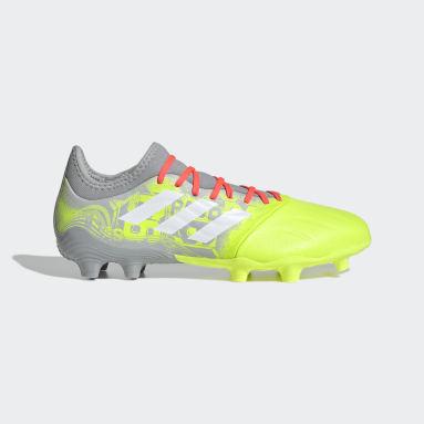 Football Grey Copa Sense.3 Firm Ground Boots