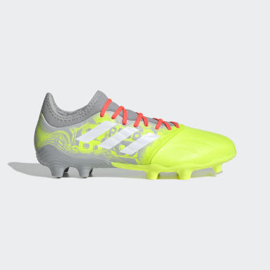 Men's Soccer Grey Copa Sense.3 Firm Ground Cleats