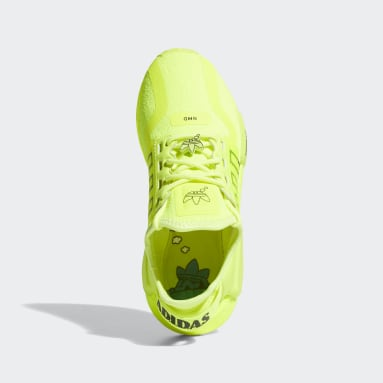Youth Originals Yellow NMD_R1 V2 Shoes