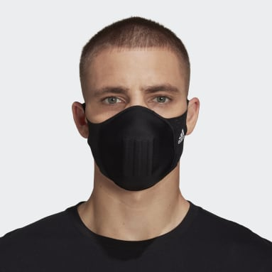 Cubierta Facial Moldeada para uso Deportivo (no para uso médico) Negro Sportswear