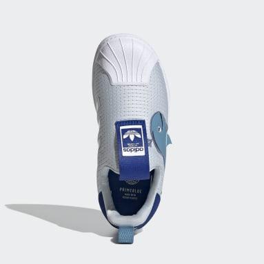 Zapatillas Superstar 360 Primeblue Azul Niño Originals