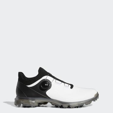 Men Golf White Alphaflex 21 BOA Golf Shoes