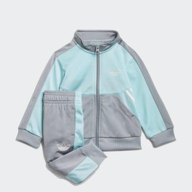 Conjunto adidas SPRT Collection Azul Niño Originals