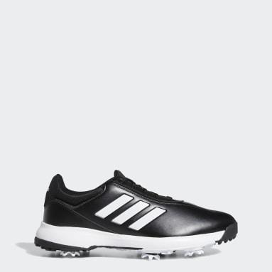 Men Golf Black Traxion Lite Shoes
