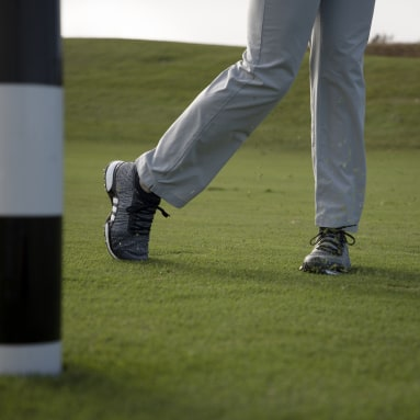 Men's Golf Black Tour360 XT Primeknit Shoes
