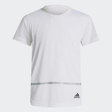 Youth 8-16 Years Gym & Training White HEAT.RDY Primegreen T-Shirt