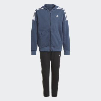 Boys Gym & Training Blue Track Suit