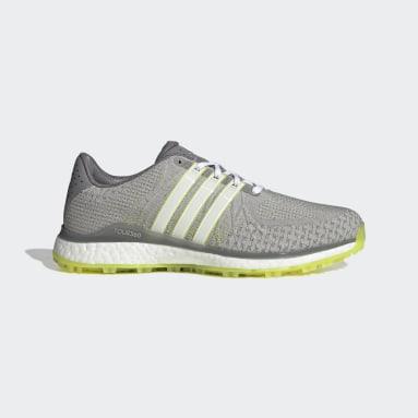 Men Golf Grey TOUR360 XT-SL Spikeless Textile Golf Shoes