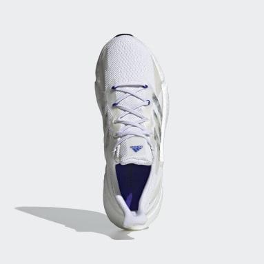 Men Running White X9000L4 Primeblue Shoes