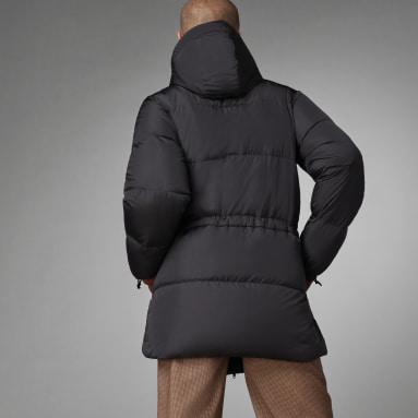 черный Пуховик Fashion