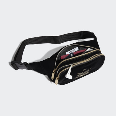 Originals Black Velvet Waist Bag