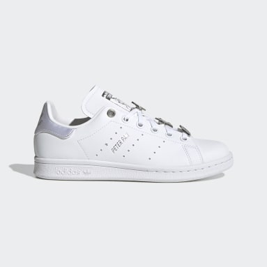 Stan Smith Peter Pan and Tinker Bell blanc Adolescents Originals