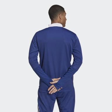 Men's Soccer Blue Tiro Primeblue Warm Top