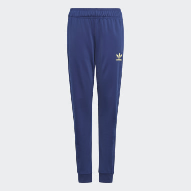 Boys Originals Blå Allover Print SST Pants