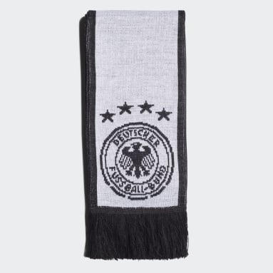 Football White Germany Scarf