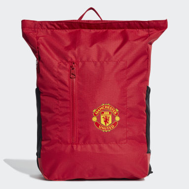 Football Red Manchester United Backpack
