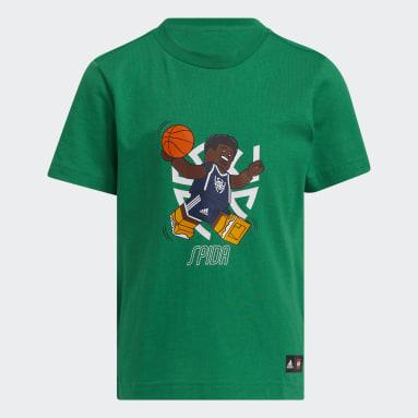 Children Basketball Green adidas x LEGO® Tee Donovan Mitchell