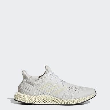 Running White adidas Futurecraft 4D Shoes