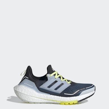 Women Running Blue Ultraboost 21 COLD.RDY Shoes