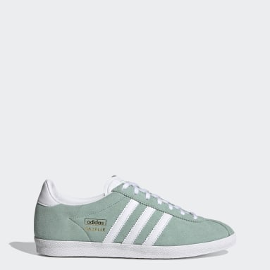 Women Originals Green Gazelle OG Shoes