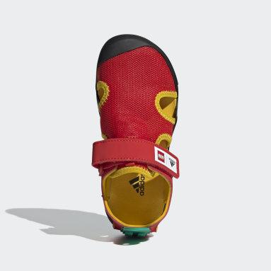 Kinder TERREX adidas x LEGO® Captain Toey Sandale Rot