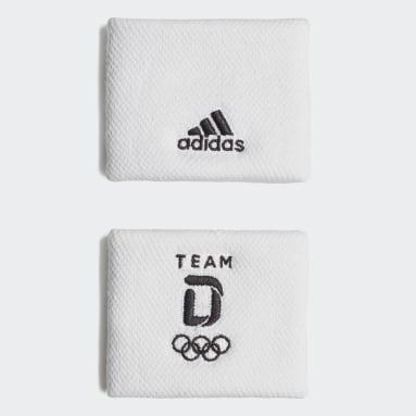 Fitness & Training Team Deutschland Schweißband Weiß