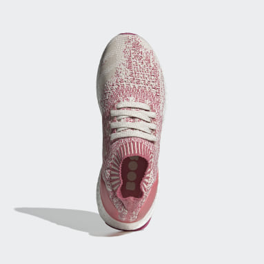 Women Running Pink Ultraboost Uncaged Shoes