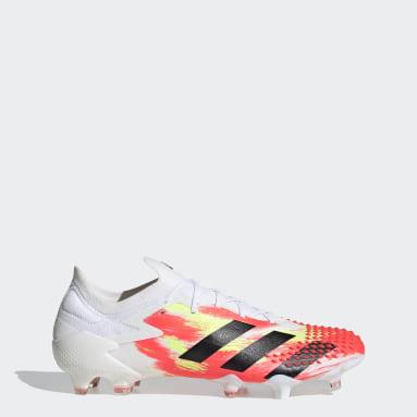 Football White Predator Mutator 20.1 Firm Ground Boots