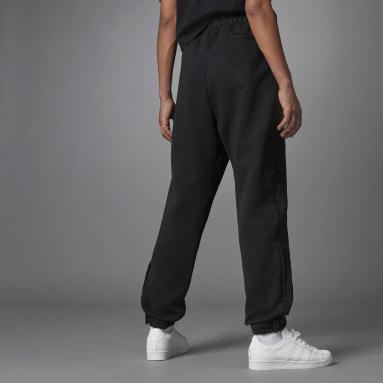 Dam Originals Svart Blue Version Side Slit Track Pants