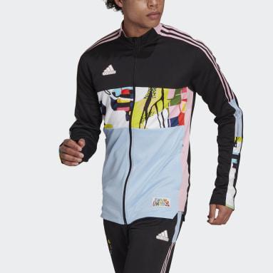 Men Football Black adidas Love Unites Tiro Track Jacket