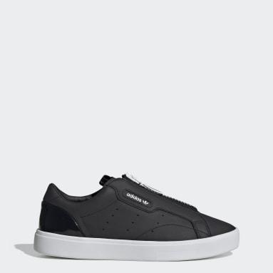 Women Originals Black adidas Sleek Zip Shoes