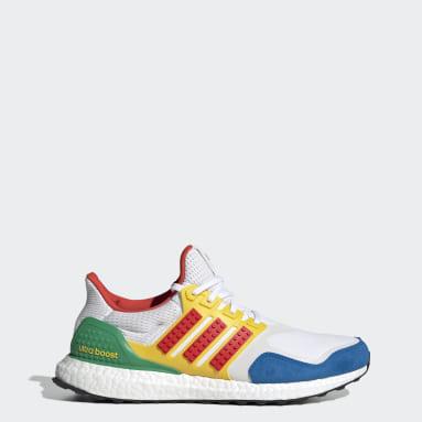 ผู้ชาย วิ่ง สีขาว รองเท้า adidas Ultraboost x LEGO® Colors