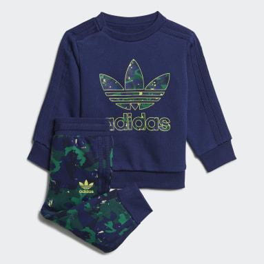 синий Комплект: джемпер и брюки Camo Print