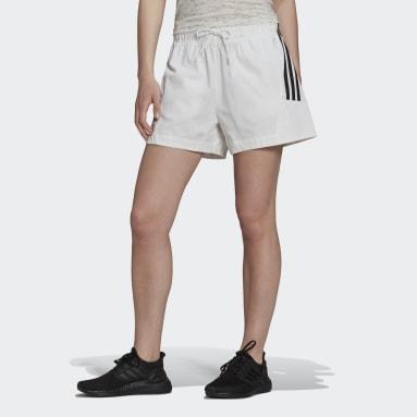 Women Sportswear White adidas Sportswear Future Icons Shorts