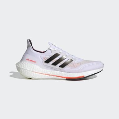 ผู้ชาย วิ่ง สีขาว รองเท้าวิ่ง Ultraboost 21 Tokyo