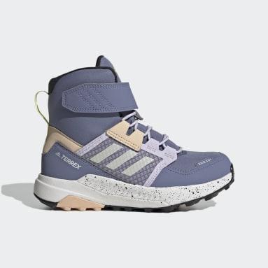 Chaussure de randonnée Terrex Trailmaker High COLD.RDY Violet Enfants TERREX