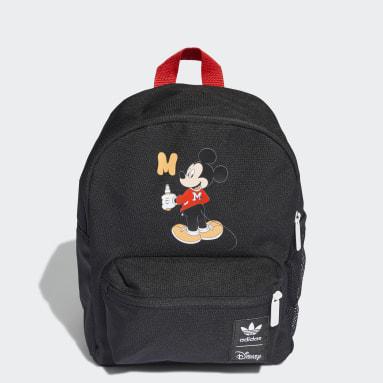 Mochila Mickey Disney Preto Criança Originals