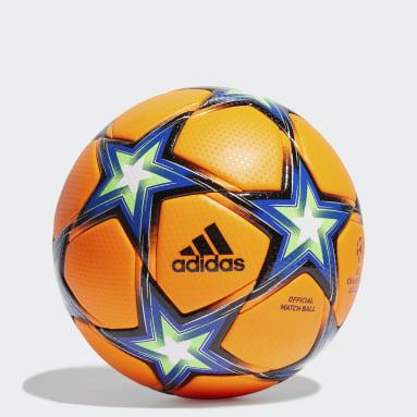 Balón UCL Pyrostorm Winter Naranja Fútbol