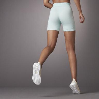 Women Training Green Hyperglam Tight Shorts