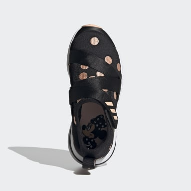 Kids Running Black FortaRun X Polka-Dot Shoes