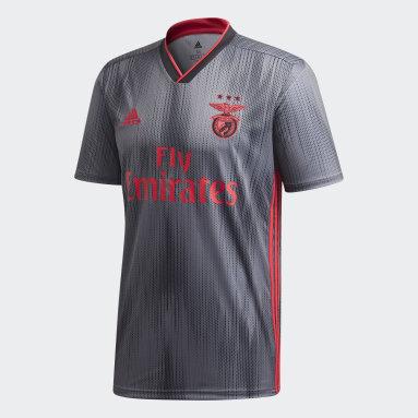 Benfica Away Jersey Svart