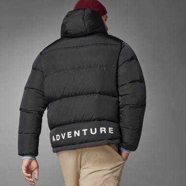 Mænd Originals Sort adidas Adventure Down Puffer dunjakke