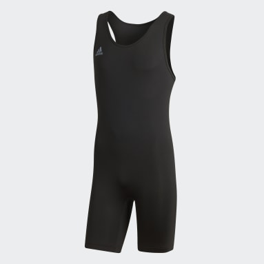 Cross Training Black Powerlift Suit