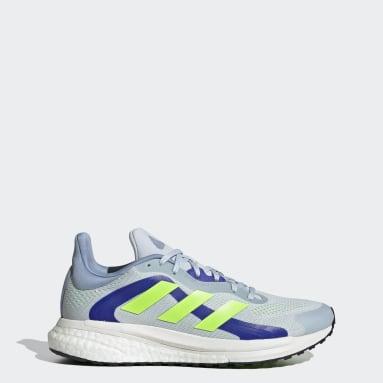Tenis SolarGlide 4 ST Azul Mujer Running