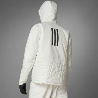 Men TERREX White Terrex MYSHELTER PrimaLoft Hooded Padded Jacket