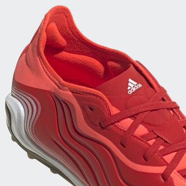 Calzado de Fútbol Copa Sense.1 Pasto Sintético Rojo Hombre Fútbol