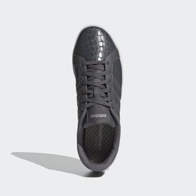 Women Sport Inspired Grey Courtpoint Shoes