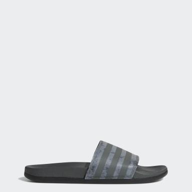 Swimming Grey Adilette Comfort Sandals