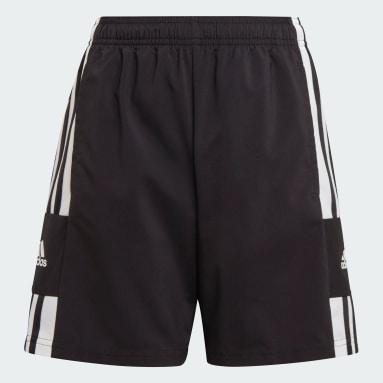 Youth 8-16 Years Football Black Squadra 21  Woven Shorts
