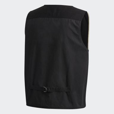 Men Y-3 Black Y-3 Workwear Vest